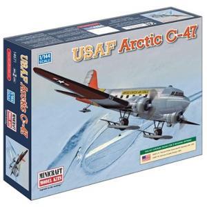 1/144 アメリカ空軍 C-47 スカイトレイン スキーバージョン プラモデル[14671] horikku