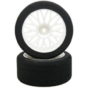 1/10マウンティング・スポンジタイヤ[2]65x30mm R4-38°[3360] horikku