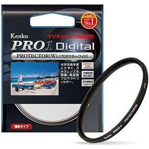 Kenko レンズフィルター PRO1D プロテクター W レンズ保護用[249512](ブラック,...