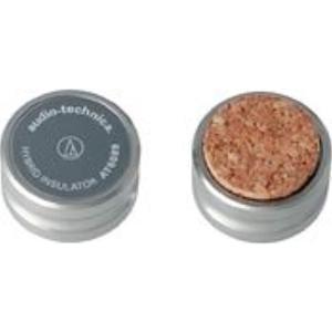 ・ミニコンポ・小型スピーカーに最適のコンパクトサイズ・コルクと真鍮の2層ハイブリッド構造・ニッケルメ...