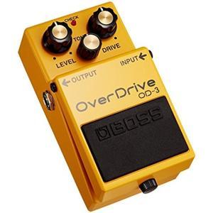 「ボス・コンパクトエフェクター・オーバードライブ」BOSS Over Drive OD-3は新開発の...