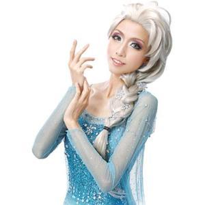 アナと雪の女王 エルサ ウィッグ コスチューム用小物