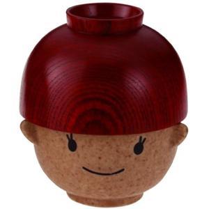 まんぷく お嬢ちゃん 茶碗と椀 セット[SAN1785-G] horikku