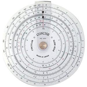 定規 円形計算尺 300[100829]