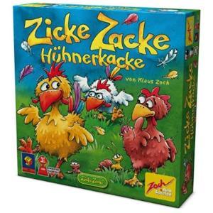 Zicke Zacke H〓hnerkacke: F〓r 2 - 4 Spieler ab Jahren. 15 -20[601121800] horikku