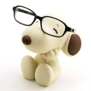 メガネスタンド 「眼鏡スタンド」 セピア スヌーピー|horikku