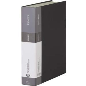 クリアーファイル シンプリーズ A4S 100P 136-5SP[136-5SPクロ](黒)