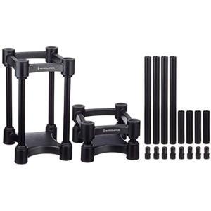 モニタースピーカースタンド ペアセット ISO-L8R130[1004208](ブラック)