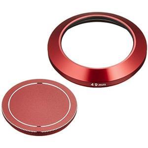 ETSUMI メタルインナーフード+キャップセット 49mm SONY SEL16F28 E16mm...