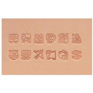 クラフト社 星座刻印セット 12本入 18307