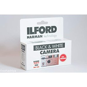 ILFORD レンズ付きフィルム ISO400 27枚撮り 1174186[XP2](XP2, 1台...