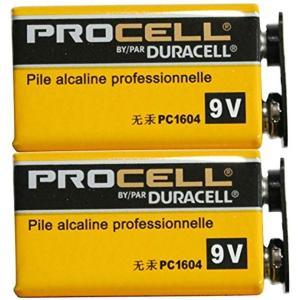 DURACELLPROCELL デュラセル プロセル 9V電池 エフェクター/楽器用アルカリ電池 2...