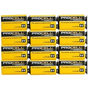 PROCELL プロセル 9V電池 エフェクター/楽器用アルカリ電池 12個セット[DP-9V-12...