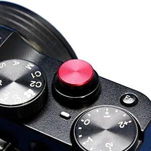 アルミ製のねじ込み式のソフトレリーズボタンです。    フラットタイプ(凸形状)の形状になります。 ...