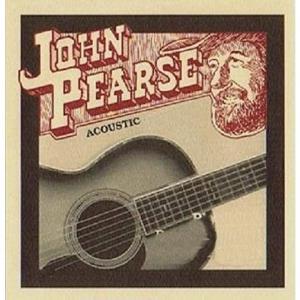 ジョンピアスの高品位、高音質の高級アコースティック(フォーク)ギター弦。 6本入りセットジョンピアス...