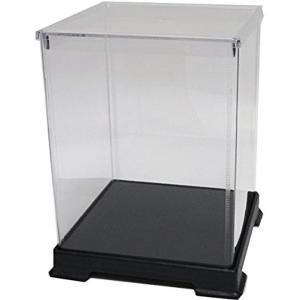 透明フィギュアケース プラスチック 組立式 W240×D240×H320mm ディスプレイケース[242432]|horikku