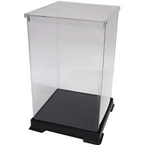 透明フィギュアケース プラスチック 組立式 W150×D150×H240mm ディスプレイケース[151524]|horikku