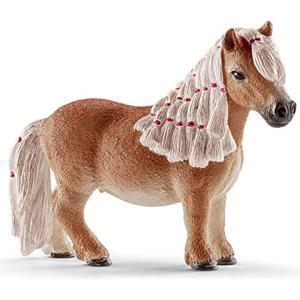 ・ドイツのシュライヒ社が制作した農場動物シリーズのミニシェッティの雌(雌馬牝馬MiniShettym...