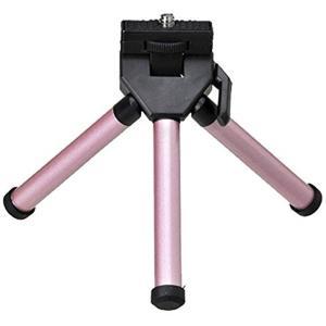 ・携帯に便利なかさばらないミニ三脚。 ・洋服のポケットにも入る大きさの小型テーブル三脚です。 ・雲台...