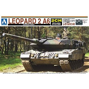 1/48 リモコンAFVシリーズ No.2 ドイツ陸軍 レオパルド2 A5 プラモデル[0146]|horikku