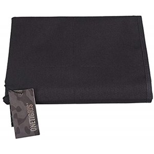 ワッペンベース パッチマット 壁掛けポケット付き ホビー収納用(ブラック)|horikku