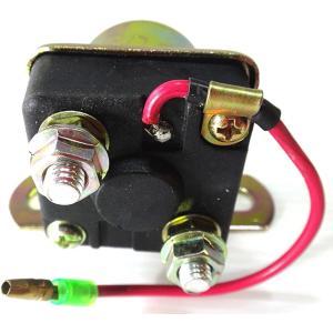 バイク スターターリレー オートバイ セルリレー 汎用 12V マグネットスイッチ 修理 予備 に 備えて 安心 や にも(スズキ)|horikku
