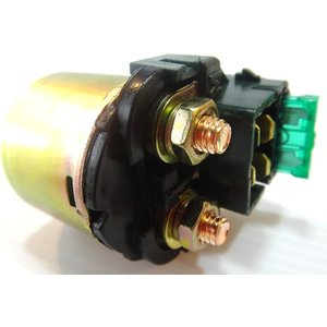 バイク スターターリレー オートバイ セルリレー 汎用 12V マグネットスイッチ 修理 予備 に 備えて 安心 や にも(ホンダ)|horikku