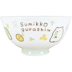 すみっコぐらし 茶碗 約11×H6cm 日本製(ホワイト) horikku