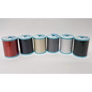 フジックスシャッペスパン 60番 200m 6色セット ミシン糸|horikku