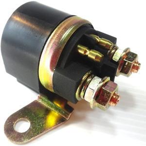 バイク スターターリレー オートバイ セルリレー 汎用 12V マグネットスイッチ 修理 予備 に 備えて 安心 や にも(スズキ 2)|horikku