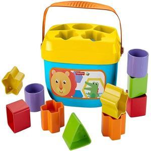カラフルブロックを形あわせで入れて小さな手に持ちやすくて遊びやすい0種のカラフルブロックを並べて、積...