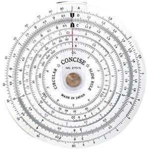 定規 円形計算尺 270N[100812]