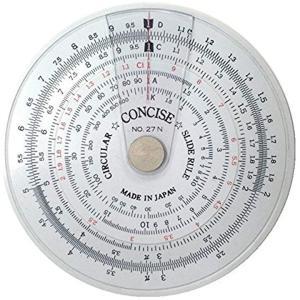 定規 円形計算尺 27N[100805]