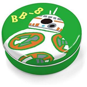 たっぷり使える80枚のメモ用紙が、かわいいてのひらサイズの缶に入った「めもかん」です。  BB-8の...