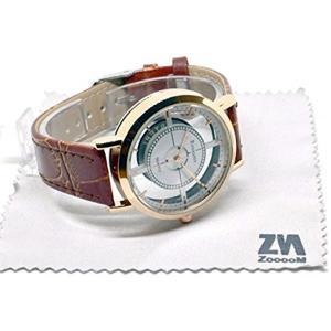 腕 時計 CROSS FACE ユニーク デザイン 文字盤 アナログ ウォッチ オリジナル クロス 男[ZM-WATCH566-BR](ブラウン)|horikku