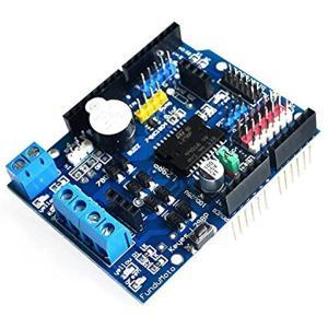 L298PモータドライバモジュールHブリッジドライブシールド拡張ボードArduino用高出力DCステッパモータコントローラ[JT0792]|horikku