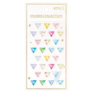 シールレンジ パターン三角柄 82529 ミドリ アクセサリーのような透明レジンシール|horiman