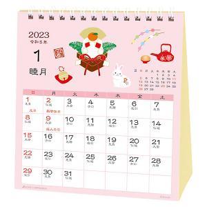 カレンダー 2022 卓上 和風ハンドメイド・春夏秋冬 ACL-1552 (A-41) 2022年1...