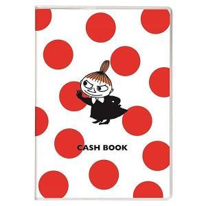 家計簿 ムーミン キャッシュブック ドット A6サイズ AD050-75 68頁 学研ステイフル 手軽に使えるコンパクトでかわいい簡易家計簿 キャラクター horiman