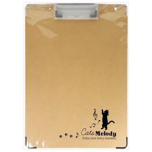 猫柄クリップボード A4縦 CGCF1001 Cats Melody ねこ ネコ クリエイトG|horiman