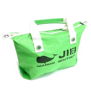 JIB ファスナーつきトートバッグ オーバージップ Mサイズ FTM88 グラスグリーン ベルトなし ファスナーが外側から見えるタイプ 8文字まで名入れ無料 ジブ horiman