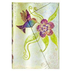 paperblanks ペーパーブランクス ノートブック ミディ(MIDI)サイズ 気まぐれな妖精たち ハミングバード PB1142-2 マグネット式 horiman