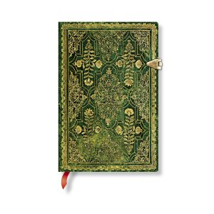 paperblanks ペーパーブランクス ノートブック ミニ(MINI)サイズ 秋麗 ジュニパー PB4414-7 留め金 208頁 罫線 horiman