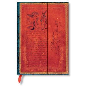 paperblanks ペーパーブランクス ノートブック ミディ(MIDI)サイズ アーティストビジョン ルイス・キャロル 不思議の国のアリス PB4 horiman