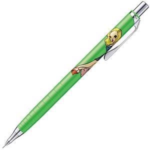 ◎芯を出さないで書くシャープペンシル「オレンズ」と「foxy illustrations」との限定コ...
