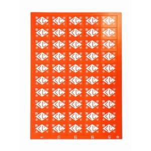 くじ 数字合わせ1-50 赤(1個入)|horishoten