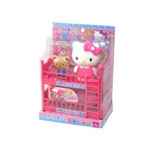 キャラ玩具 ハローキティ 2段ベッド(1個入)|horishoten