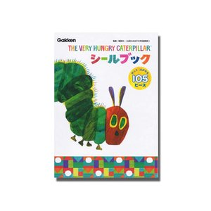 キャラ玩具 シールブック はらぺこあおむし:M050-45(1個入)|horishoten