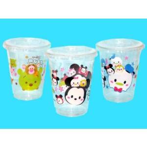 ディズニー かわいいPETカップ(ツム柄)【タピオカ用ストロー対応】(50個入) horishoten