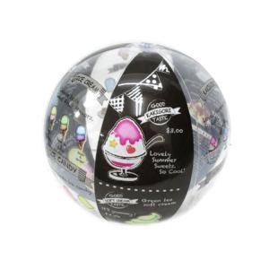 ビニール ビーチボール ICE&CAFE(15個入)|horishoten